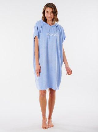 Modré mikinové šaty s kapucí Rip Curl