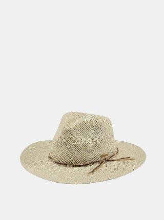 Krémový dámsky slamený klobúk BARTS