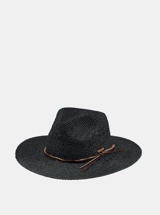 Čierny dámsky slamený klobúk BARTS
