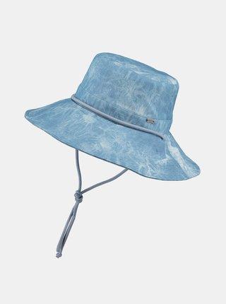Modrý dámsky batikovaný klobúk BARTS