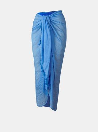 Modrý dámský velký šátek BARTS