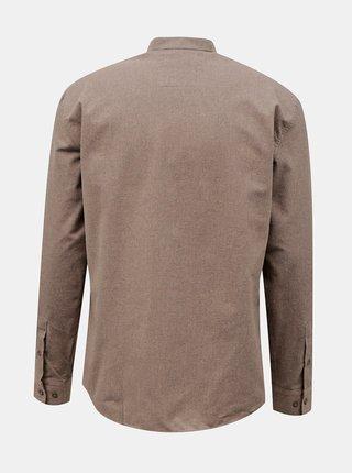 Béžová pánska košeľa Trendyol