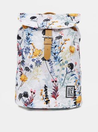 Bílý dámský vzorovaný batoh The Pack Society