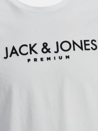 Bílé tričko Jack & Jones Jake