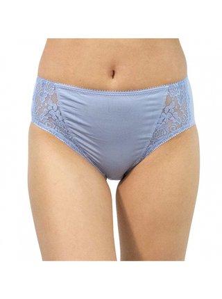 Dámské kalhotky Gina modré s krajkou
