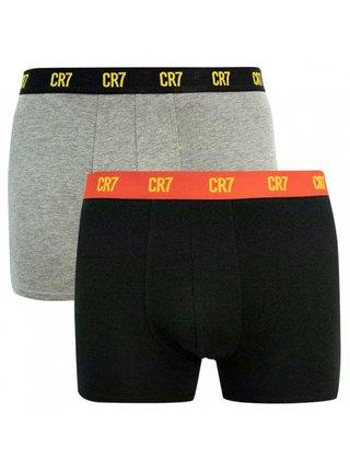 2PACK pánské boxerky CR7 vícebarevné