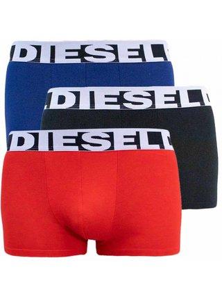 3PACK pánské boxerky Diesel vícebarevné