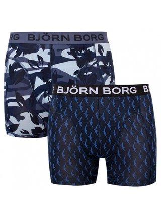 2PACK pánské boxerky Bjorn Borg vícebarevné