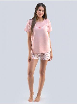 Dámské pyžamo Gina růžové