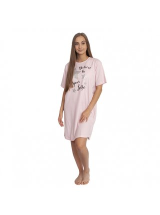 Dámská noční košile Molvy růžová