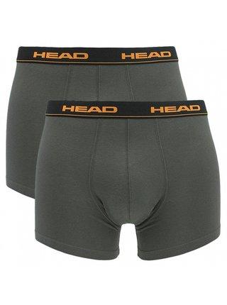 2PACK pánské boxerky HEAD šedé