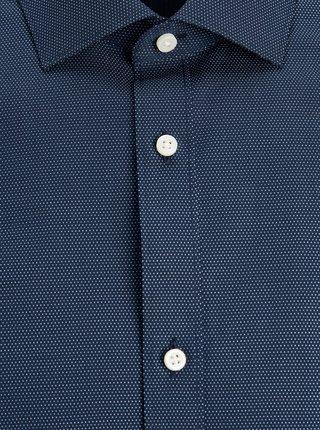 Tmavě modrá vzorovaná košile Jack & Jones Royal