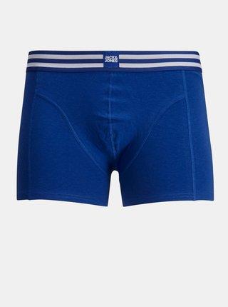 Sada tří boxerek v modré a červené barvě Jack & Jones Sporty