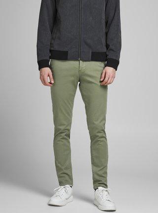 Khaki kalhoty Jack & Jones Marco
