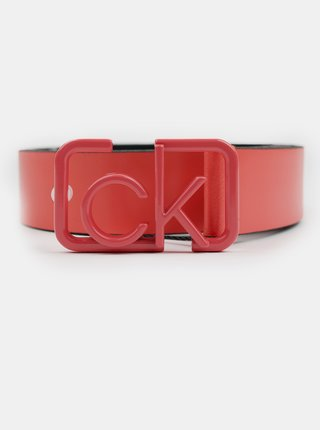 Calvin Klein růžový pásek CK Cast Belt Cav