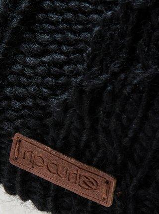 Rip Curl PLAITY JET BLACK dámská čepice - černá