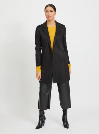 Čierny ľahký kabát VILA