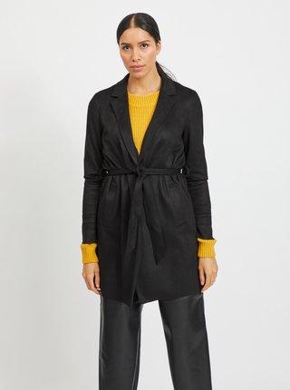 Černý lehký kabát VILA