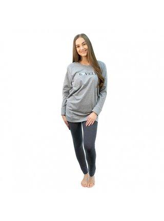 Dámské pyžamo Gina šedé