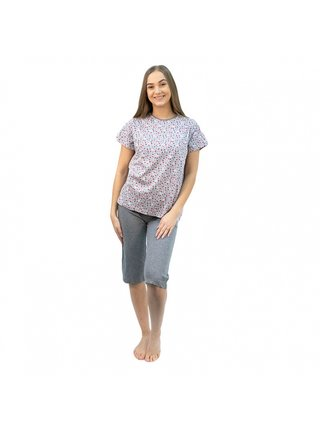 Dámské pyžamo Molvy šedé