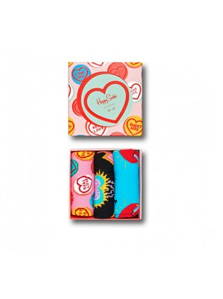 3PACK ponožky Happy Socks I Love You Gift Box