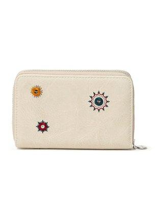 Desigual béžové malá peňaženka Mone July Denim Marisa