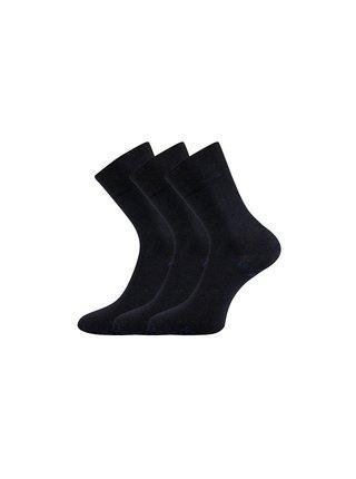 3PACK ponožky Lonka tmavě modré