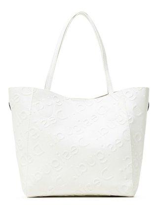 Desigual bílá kabelka Bols Colorama Norwich