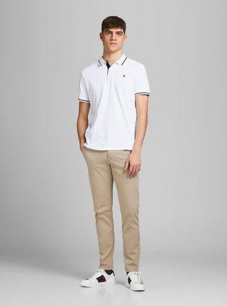 Béžové kalhoty Jack & Jones Marco