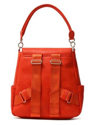 Desigual červený batoh Back Lyrics Positano