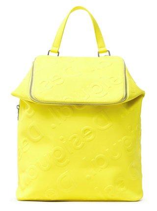 Desigual žlutý batoh Back Colorama Loen