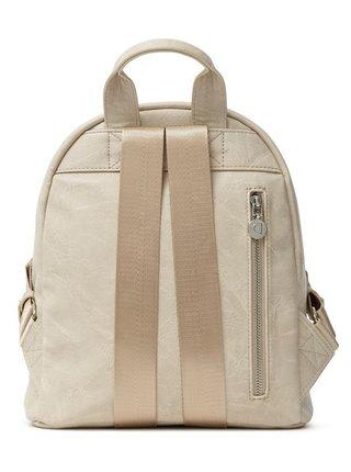 Desigual béžové ruksak Back Carlina Nazca Mini Crema