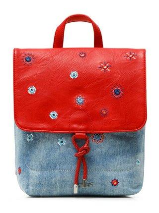 Desigual modré ruksak Back July Denim Arola