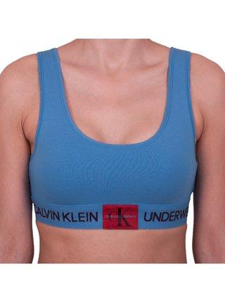 Dámská podprsenka Calvin Klein modrá