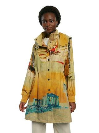 Desigual farebné kabát Chaq Venecia
