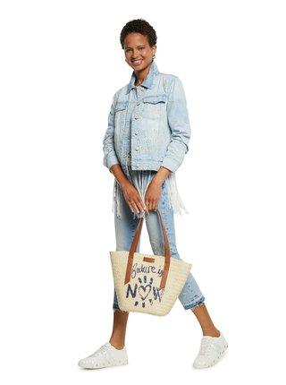 Desigual modrá džínová bunda Chaq Calm