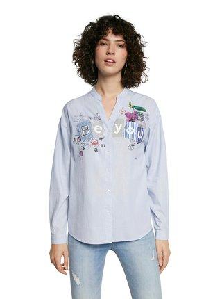 Desigual modré košeľa Cam Beyou