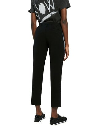 Desigual čierne nohavice Pant Cameron