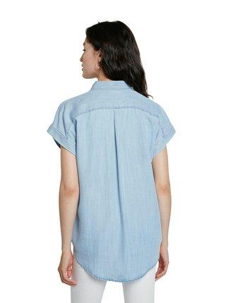 Desigual modrá košile Cam Sullivan