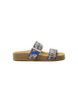 Desigual modré šľapky Shoes Aries Exotic