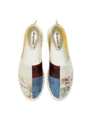 Desigual barevné espadrilky Shoes Selva Patch