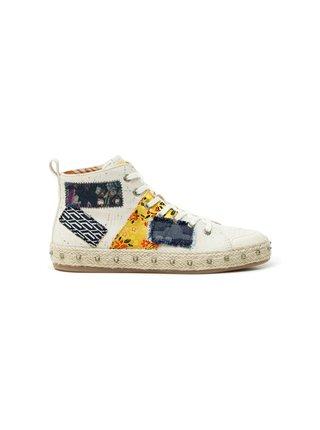 Desigual barevné kotníkové tenisky Shoes Deia Hight Patch