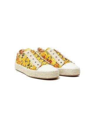 Desigual žluté tenisky Shoes Deia Honk Kong