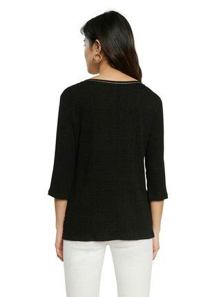 Desigual čierne tričko TS Varsovia