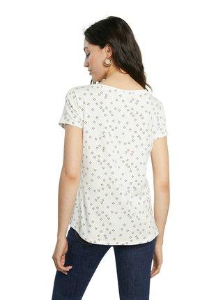 Desigual bílé tričko TS Estambul
