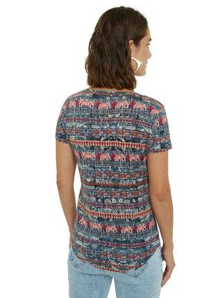 Desigual farebné tričko TS Santorini