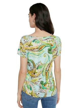 Desigual barevné tričko TS Mandragora