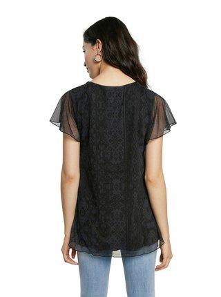 Desigual černé tričko TS Norte