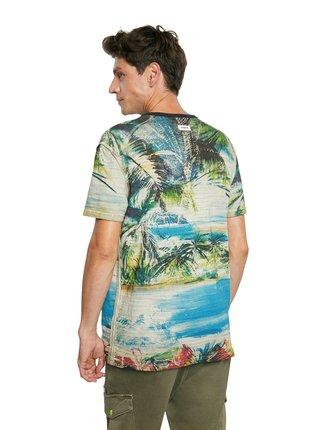 Desigual farebné tričko TS Cebrian