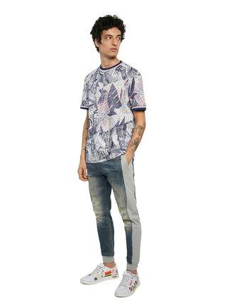 Desigual barevné pánské tričko TS Cadmo